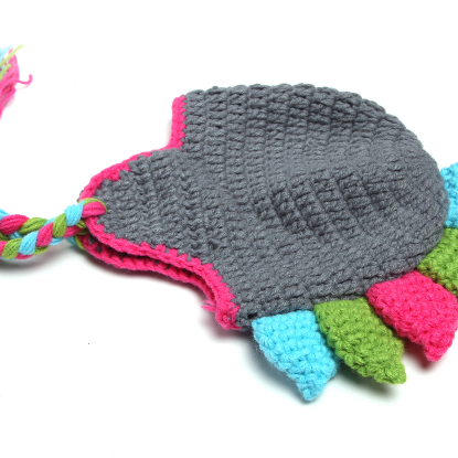 Dinosaur two - piece Hand knitted w..