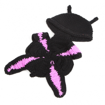 Butterfly Hand knitted wool clothes..
