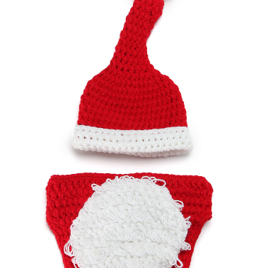 Christmas two - piece Hand knitted ..
