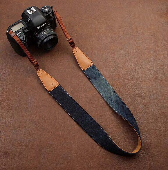Jean comfortable camera strap Neck Strap elastic carrying a classic for canon nikon sony