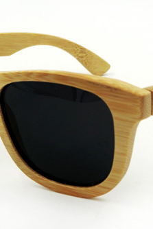 Riding bamboo sunglasses UV400 polarized glasses