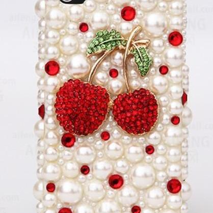 Cute cherry diamond pearl Case Hard Back Mobile phone Case Cover Rhinestone Case Cover for iphone 6s case,iphone 6s plus case,iphone 6c case,iphone 5case,iphone5scase,iphone7 case,iphone 6 case,iphone 6plus case,samsung galaxy s4 case,samsung galaxy s5case,samsung galaxy s6 case,samsung galaxy s6 edge case,samsung galaxy note10 case,samsung galaxy note4 case,samsung galaxy note5 case.