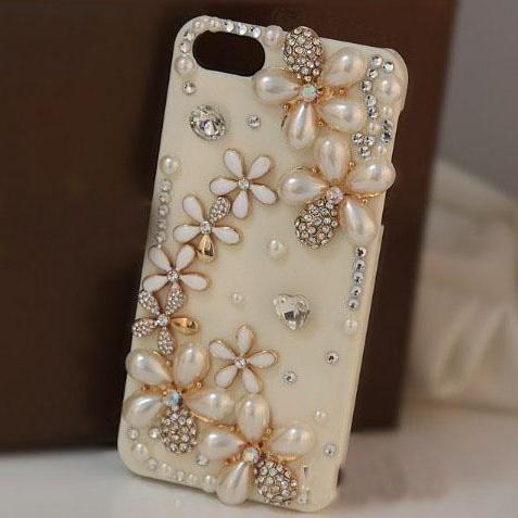 Pearl girly Case Cover Fresh and flowers diamond Hard Back Mobile phone Case Cover Rhinestone Case Cover for iphone 6s case,iphone 6s plus case,iphone 6c case,iphone 5case,iphone5scase,iphone7 case,iphone 6 case,iphone 6plus case,samsung galaxy s4 case,samsung galaxy s5case,samsung galaxy s6 case,samsung galaxy s6 edge case,samsung galaxy note10 case,samsung galaxy note4 case,samsung galaxy note5